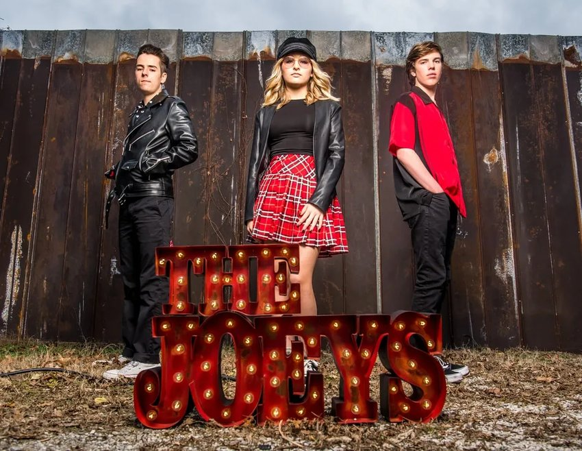 The Joey's, a young energetic rockabilly group from Scottsdale, are to perform at 4 p.m.