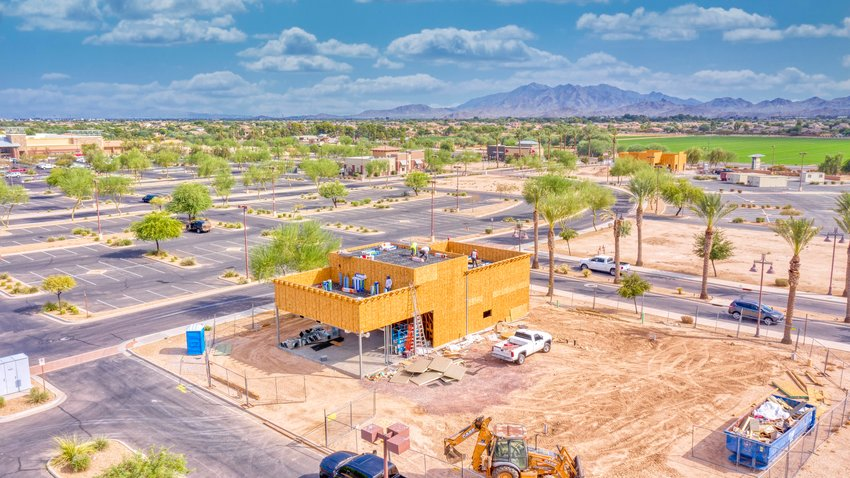Construction on Filiberto's at 891 S. Cotton Way was completed in 2020