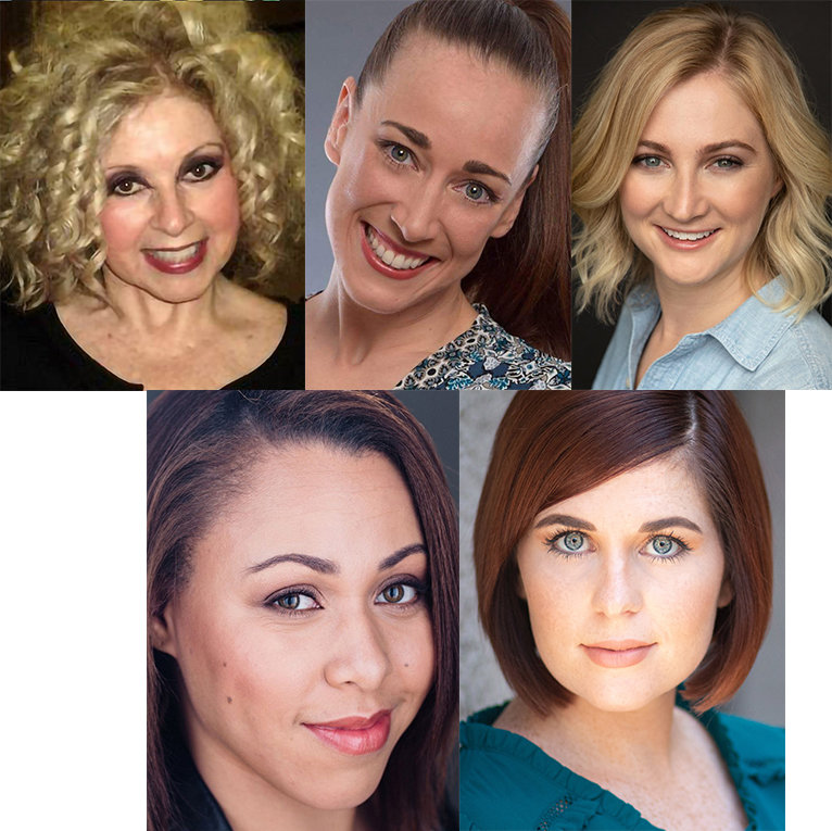 """Nunsense"" at Arizona Broadway Theatre stars, clockwise from top left, Kathi Osborne, Renee Koher, Alexia Lorch,Blair Beasley and Liz Fallon."