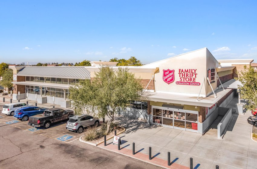 The Salvation Army Family Thrift Store is at 4920 S. Arizona Ave. in Chandler. The property was built in 2009.
