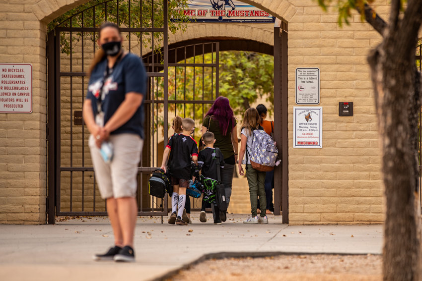 The new policy went into effect May 4. The last day of K-12 instruction is May 20 and the last day for teachers is May 21, according to the district's 2020-21 academic calendar.