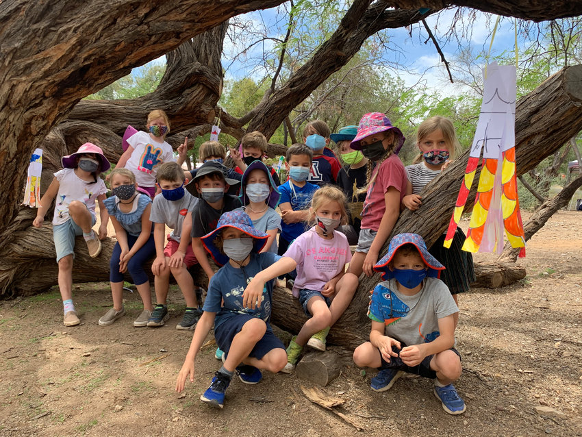 Desert View Learning Center first graders selected winners from video entries submitted for the 2021 Chicken's Got Talent competition.