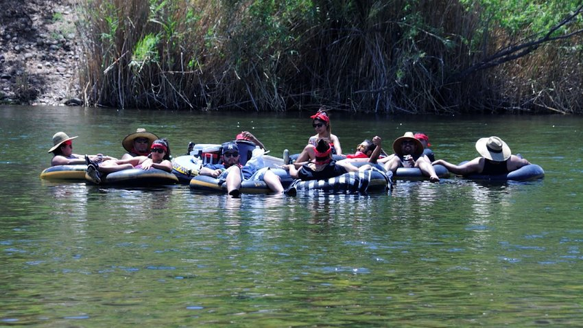 Salt River Tubing's hoedown is 9 a.m.-6:30 p.m. May 15 with a cost of $19 plus tax and fees per person or tube which includes tube rental, shuttle bus ride and free customer parking at Salt River Tubing.