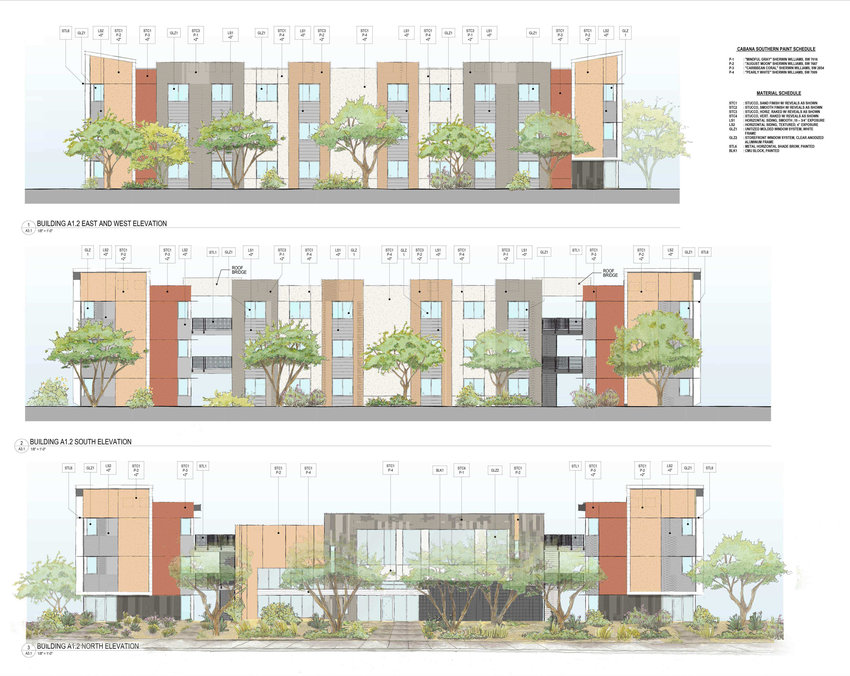 An architect's rendering of what Cabana Southern is to look like.