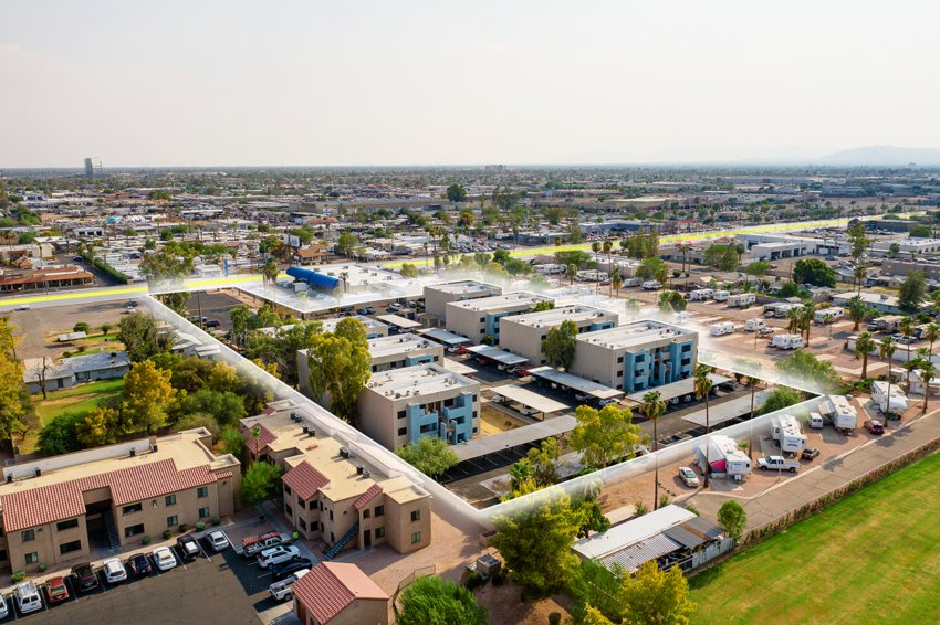 10 Ten on Main, an 84-unit apartment property at 1006 W. Main St. in Mesa.