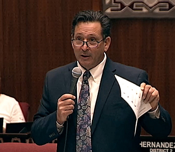 Rep. David Cook said he couldn't vote for a planned $1.9 billion tax cut included in this year's proposed state budget.