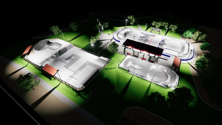 In August, Anthem Community Council officials will help break ground on a $1.44 million renovation to expand the existing area skatepark on Gavilan Peak Parkway and Anthem Way and allow a combined space for bicycles, scooters and skateboards.