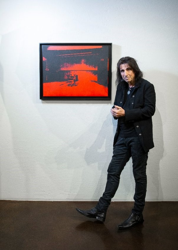 Rock star Alice Cooper's multi-million-dollar Andy Warhol is expected to fetch between $2.5 and $4.5 million, could become Arizona's highest selling artwork when auctioned at the 2021 Fall Larsen Art Auction on Oct. 23.
