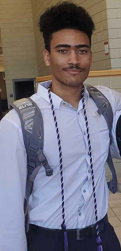 Demari Hackett is the lone member of the Surprise-based LAUNCH TEAM Robotics that attended school in Surprise at Valley Vista High School. He graduated in May.