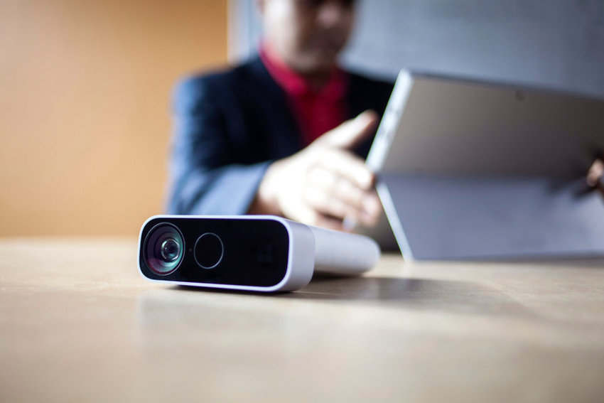 Azure Kinect DK is a developer kit and PC peripheral that employs the use of artificial intelligence sensors for computer vision and speech models, and is connected to the Microsoft Azure cloud.