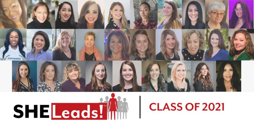 The SHE Leads! Class of 2021 graduates consist of women representing a diverse body of work and community experience.