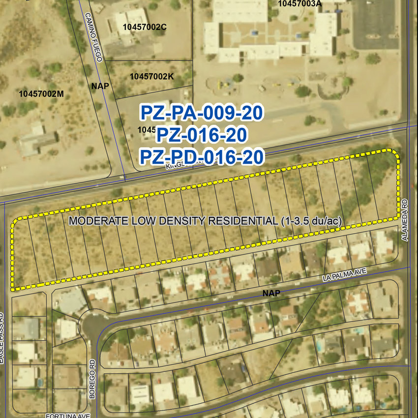 Single-family attached homes are planned in the 48-lot senior living subdivision.