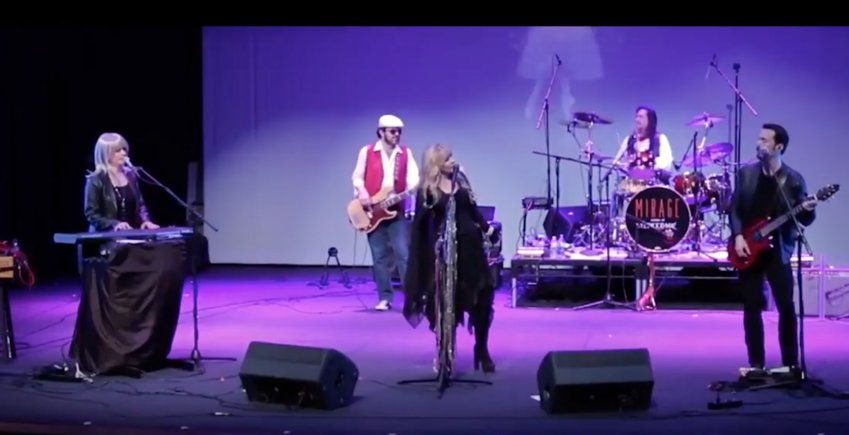 Mirage: Tribute to the Music of Fleetwood Mac will perform March 25 at the Combs Performance Arts Center.