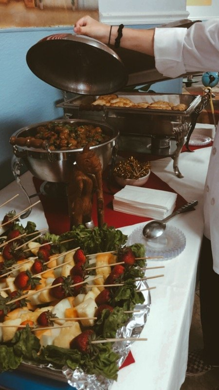 Devereux's Residential Treatment Center in Scottsdale hosted a luncheon to showcase the program participants' culinary skills such as menu planning, food prep, table setting and serving.