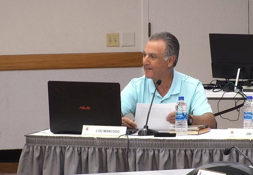Recreation Centers of Sun City West board member Lou Mancuso is facing a recall election.