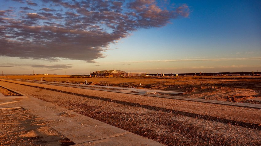 Developer Fulton Homes plans to build 790 homes at the site near Yuma Road and Estrella Parkway in Goodyear.