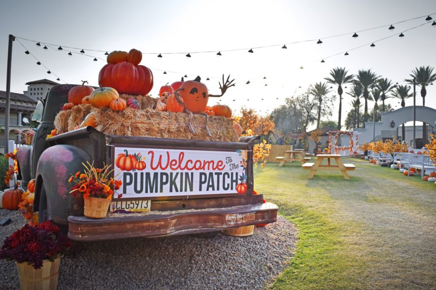 Pumpkin Nights will be held 4-9 p.m. on weekdays and 4-10 p.m. on weekends beginning on Thursday, Sept. 16 through Oct. 31 at the Fairmont Scottsdale Princess