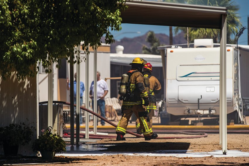 The Superstition Fire and Medical District provides fire suppression, fire prevention, wildland protection, advanced life support, rescue, extrication and medical transportation services out of five fire stations in Apache Junction and Gold Canyon.