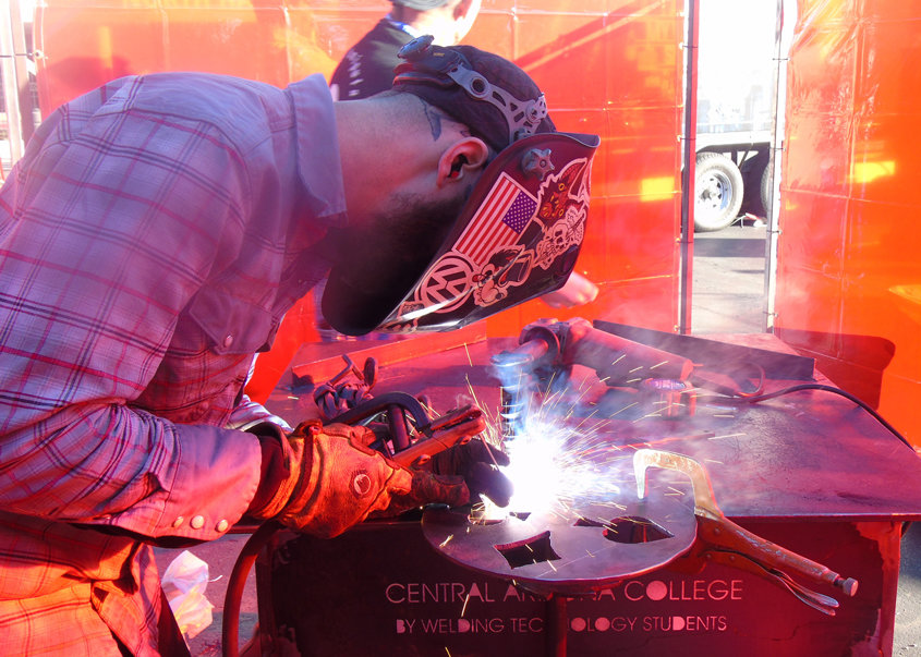 Since the early 1970s, CAC's welding department has trained students for employment opportunities in mining, steel fabrication, steel erection, aerospace, manufacturing, and other industries.