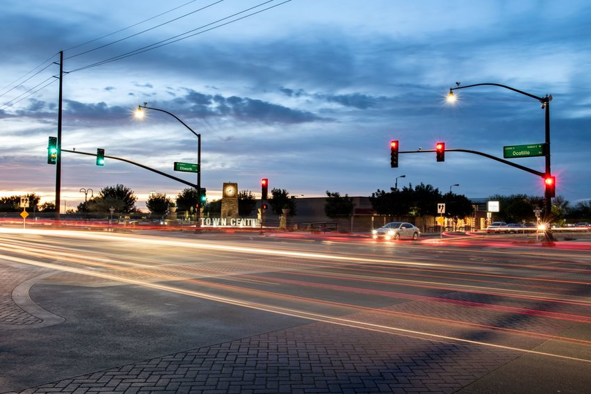 Town Center is one of the areas in Queen Creek where retail business are starting to pop up.