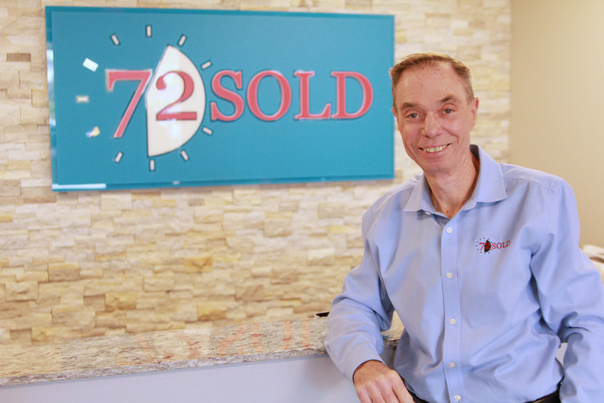 Greg Hague, CEO and founder of 72SOLD.