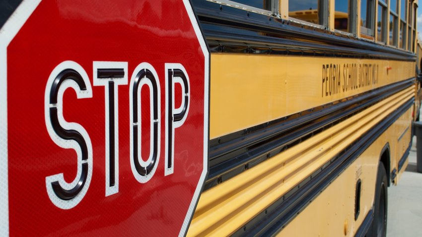 During the past year, Peoria Unified lost nearly 35% of its drivers, causing them to make double runs and use non-bus vehicles for pickups and drop offs.