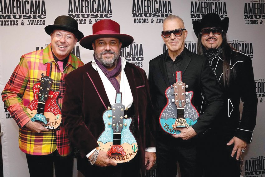 The Mavericks recently won the Americana Music Association Trailblazer Award. Experience them live Feb. 10 and 11 during Wickenburg's Gold Rush Days festival, at the Webb Center. [Submitted photo/Erika Goldring for Getty Images]