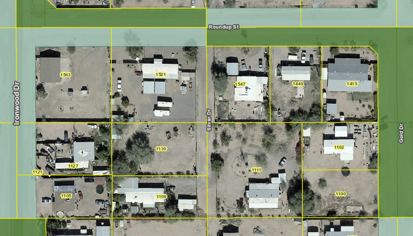 Silver Drive is not a city-approved street or a recognized easement.
