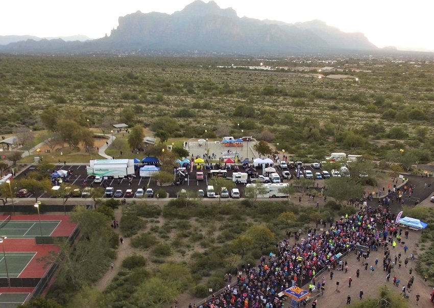 The event is Saturday, Jan. 8, at Prospector Park, 3015 N. Idaho Road in Apache Junction.