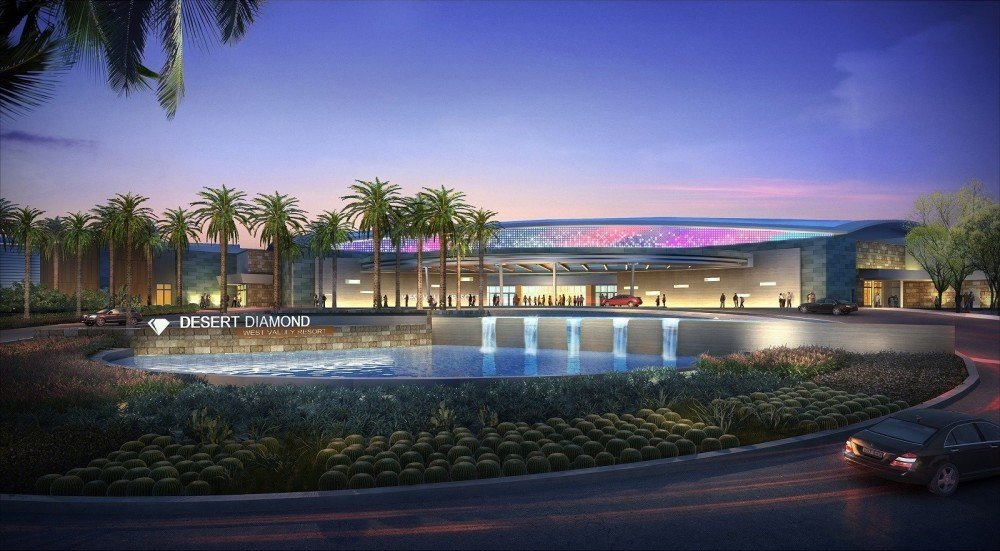 An artist's rendering shows what the Desert Diamond West Valley Casino, 9431 W. Northern Ave., Glendale, will look like when the casino's expansion is completed. [Submitted photo]