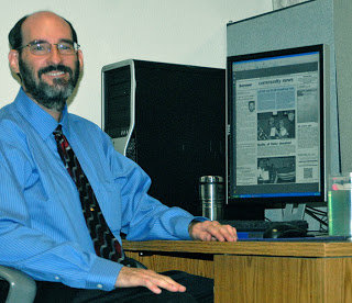 Longtime East Valley staffer Richard Dyer has celebrated more than 32 years at Independent Newsmedia.