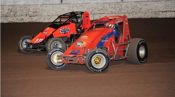 USAC sprint cars racing at Arizona Speedway, 48700 N. Ironwood Drive in Queen Creek.