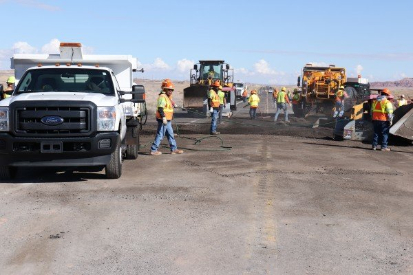 ADOT advises drivers to slow down and use caution around construction personnel and equipment while work is underway.