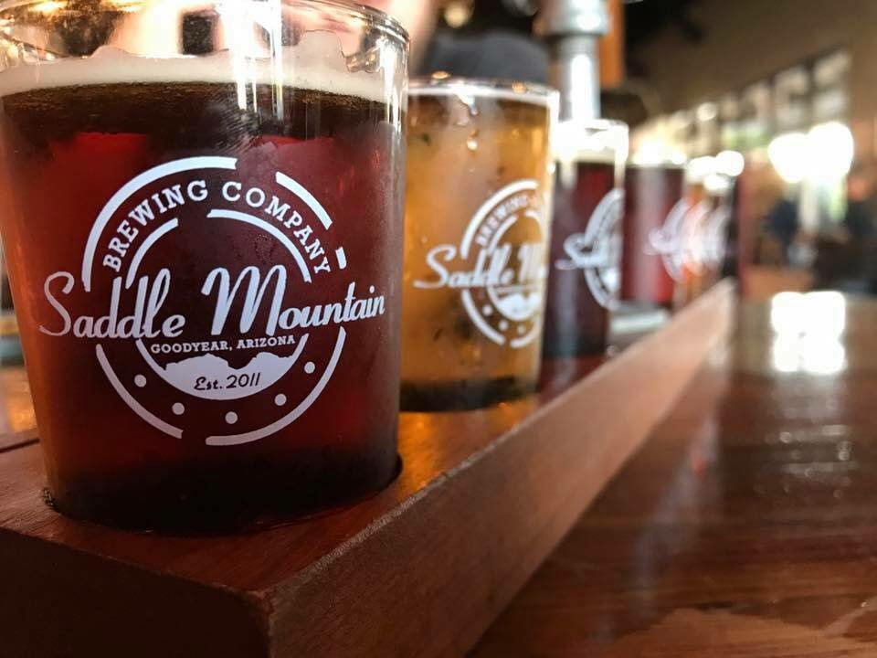 Saddle Mountain Brewing Company is located at 15651 W. Roosevelt St., Goodyear. [Submitted photo]