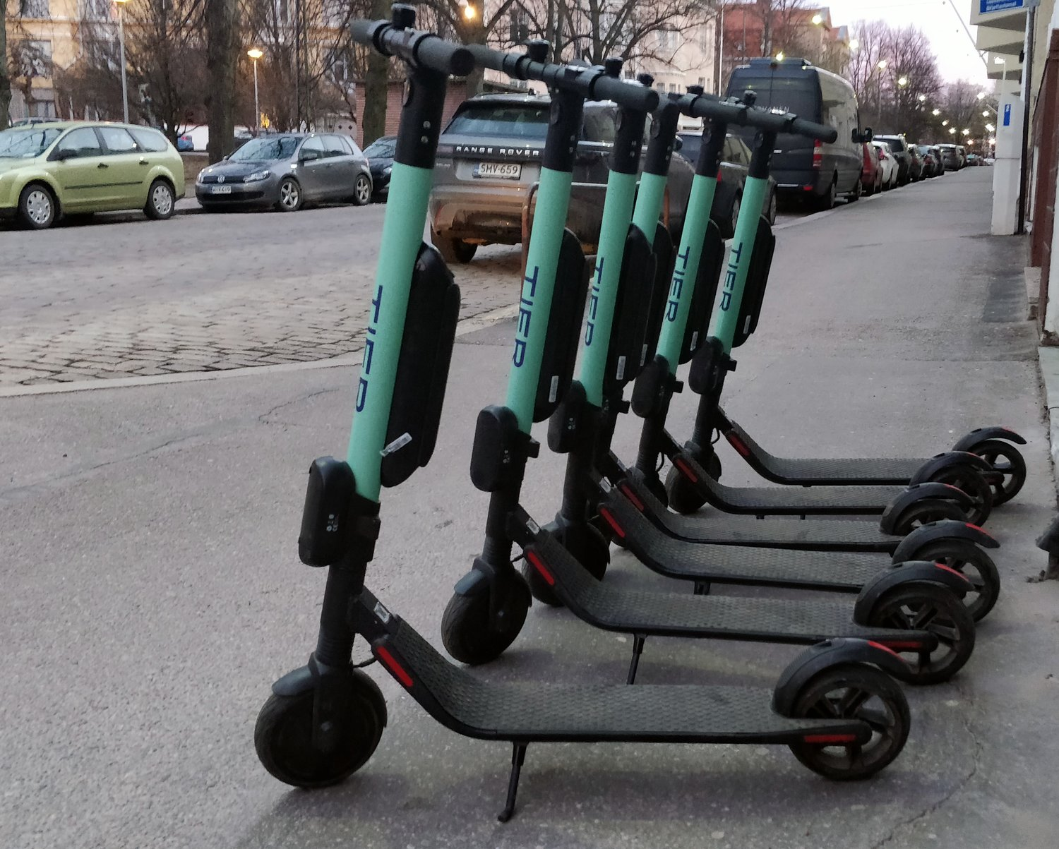 Electric scooters will be seen across the Surprise City Center, starting Nov. 1. Vendors will place no more than five together at 300 feet part from each pack, between 5 a.m. and 10 p.m. [Courtesy of Wikipedia Commons]