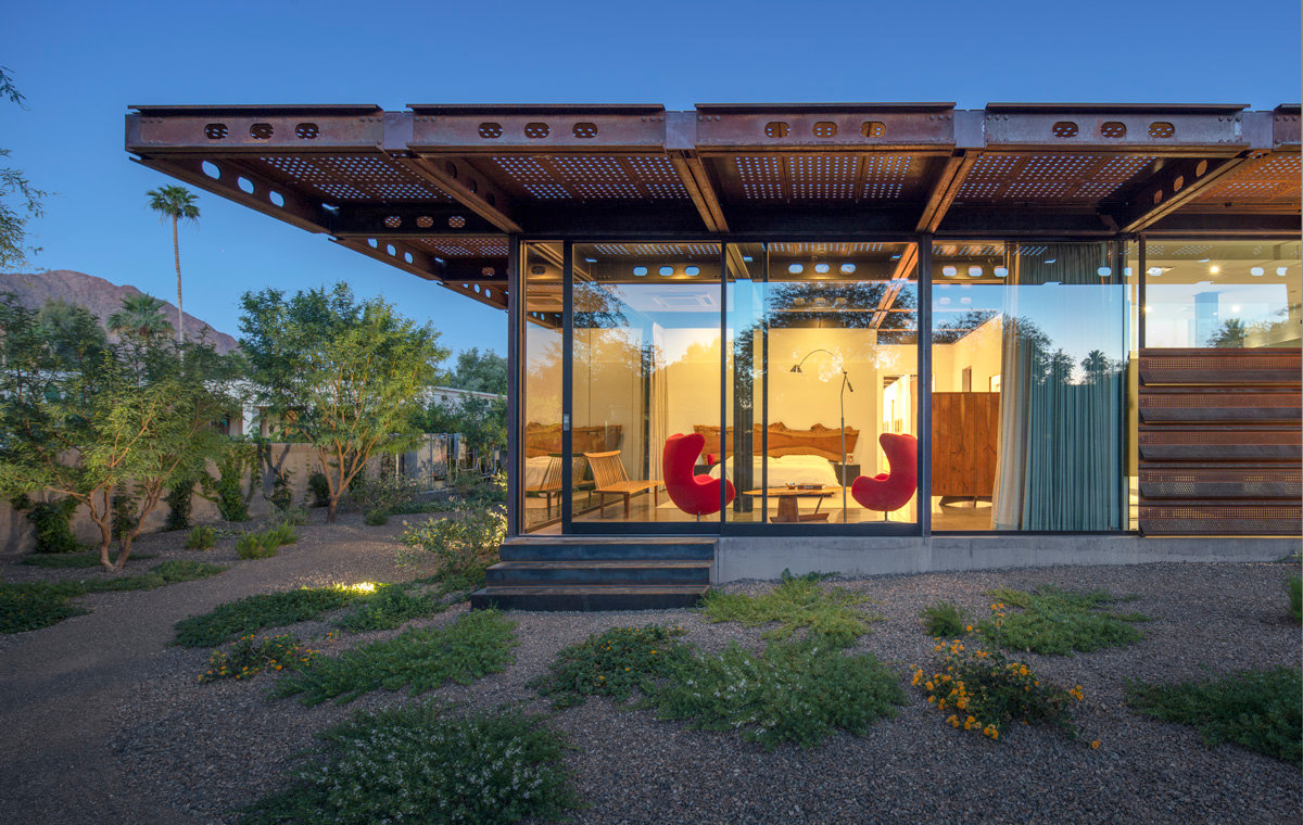 Arizona House, a private Paradise Valley residence, won the 2019 Architecture MasterPrize for Architectural Design/Residential Architecture.