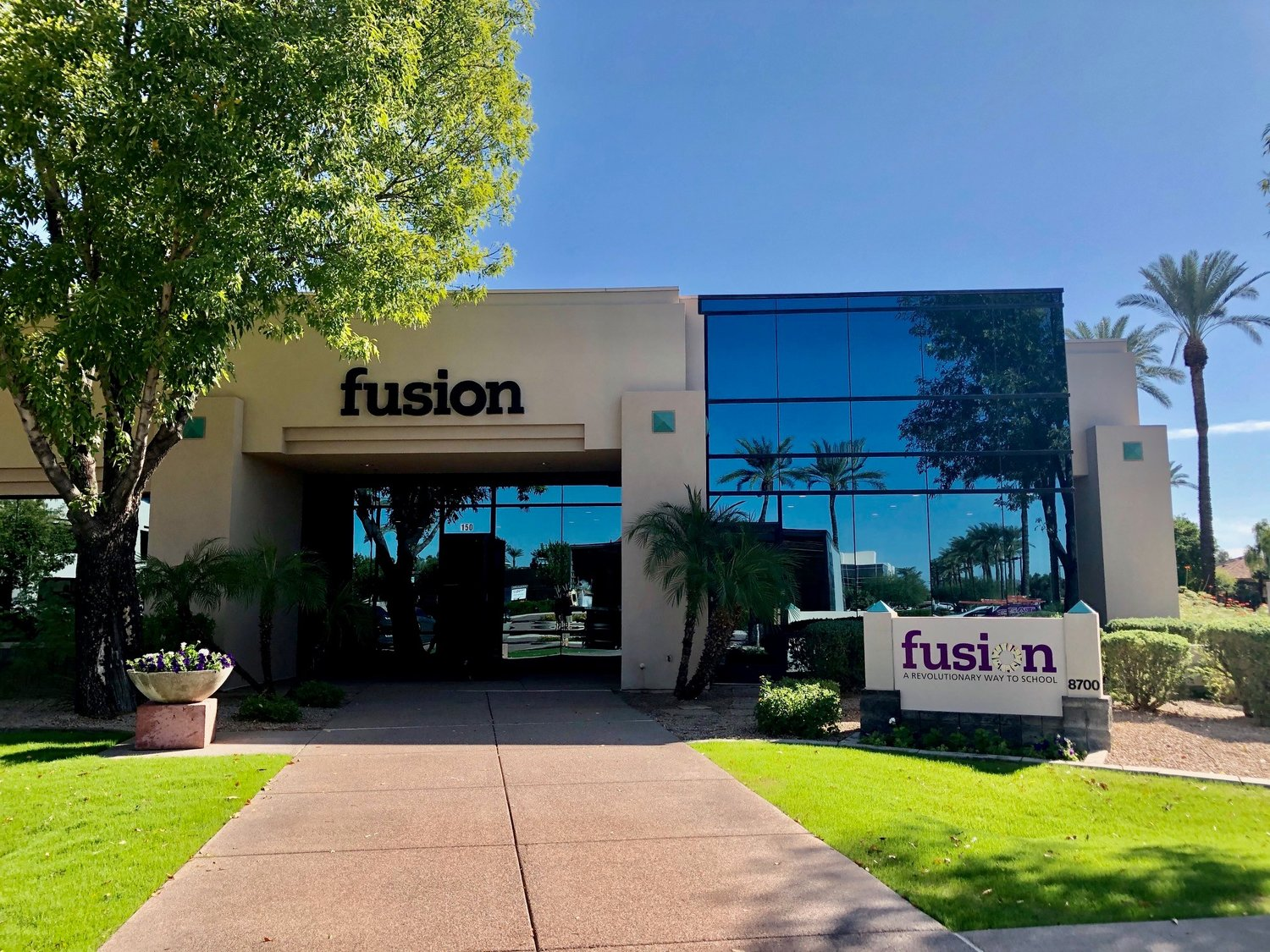 Fusion Academy, a one-on-one private school, will open a campus in Scottsdale at 8700 Gainey Center Drive.
