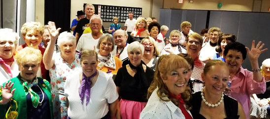 The Westbrook Village Voices will present their Christmas show over three days in Peoria.