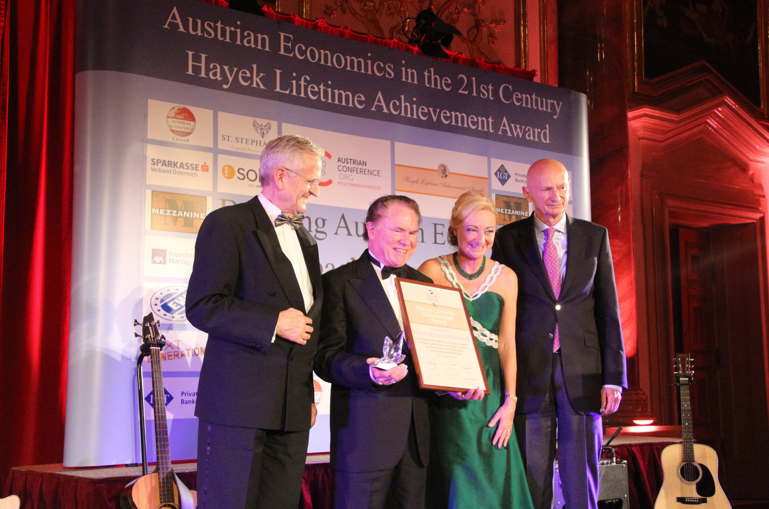 The 10th annual Hayek Lifetime Achievement Awards Gala was held Nov. 14.