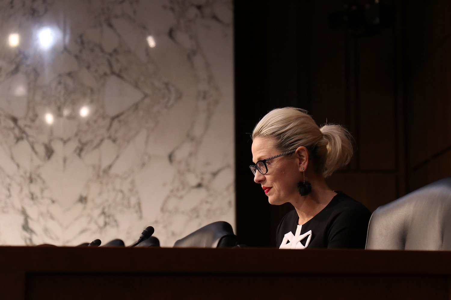 Sen. Kyrsten Sinema, D-Arizona, said in a Senate Commerce, Science and Transportation Committee hearing on robocalls in April 2019 that her office gets numerous complaints about such calls.