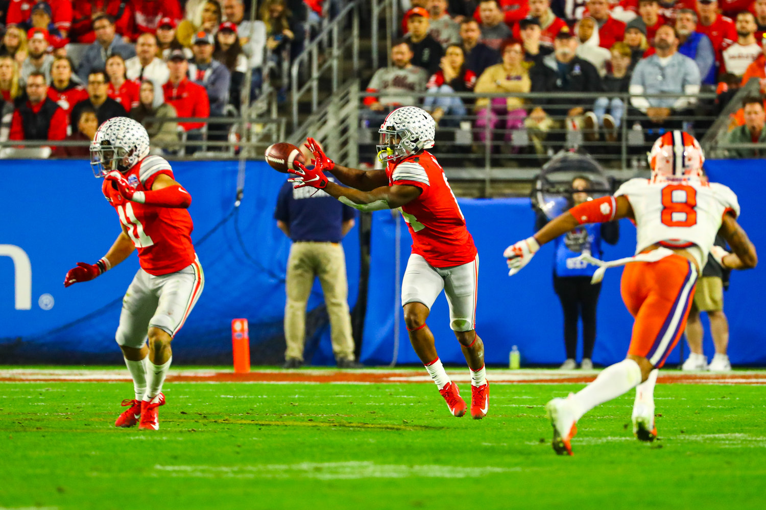 Clemson University defeated Ohio State in the Fiesta Bowl College Football Playoff semifinal game Dec. 28 in Glendale.