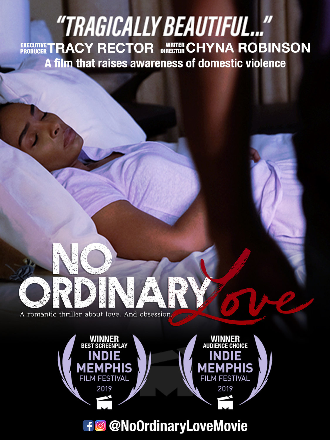 """No Ordinary Love,"" a feature film on domestic violence awareness, will be featured at the 2020 Worldwide Women's Film Festival on Saturday, Feb. 8 at Harkins Shea 14 Theater in Scottsdale."