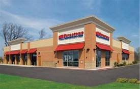 Bridgestone Ground Lease, a triple-net ground-leased property at 21443 S. Ellsworth Road in Queen Creek.