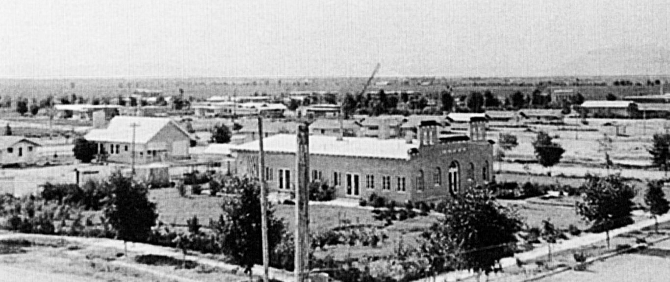 The hospital built in Litchfield Park in 1919 as a result of the Spanish flu pandemic was just west of the Wigwam Resort.