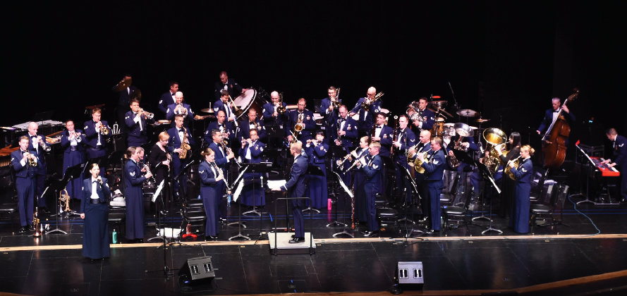 The Concert Band from the U.S. Air Force Band of the Golden West will perform a free concert Jan. 29 in Surprise.