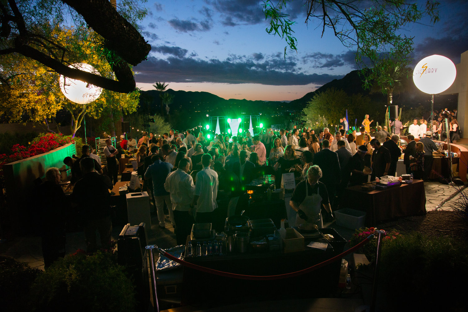 Nirvana Food and Wine Festival returns to Sanctuary on Camelback Mountain Resort and Spa in April.