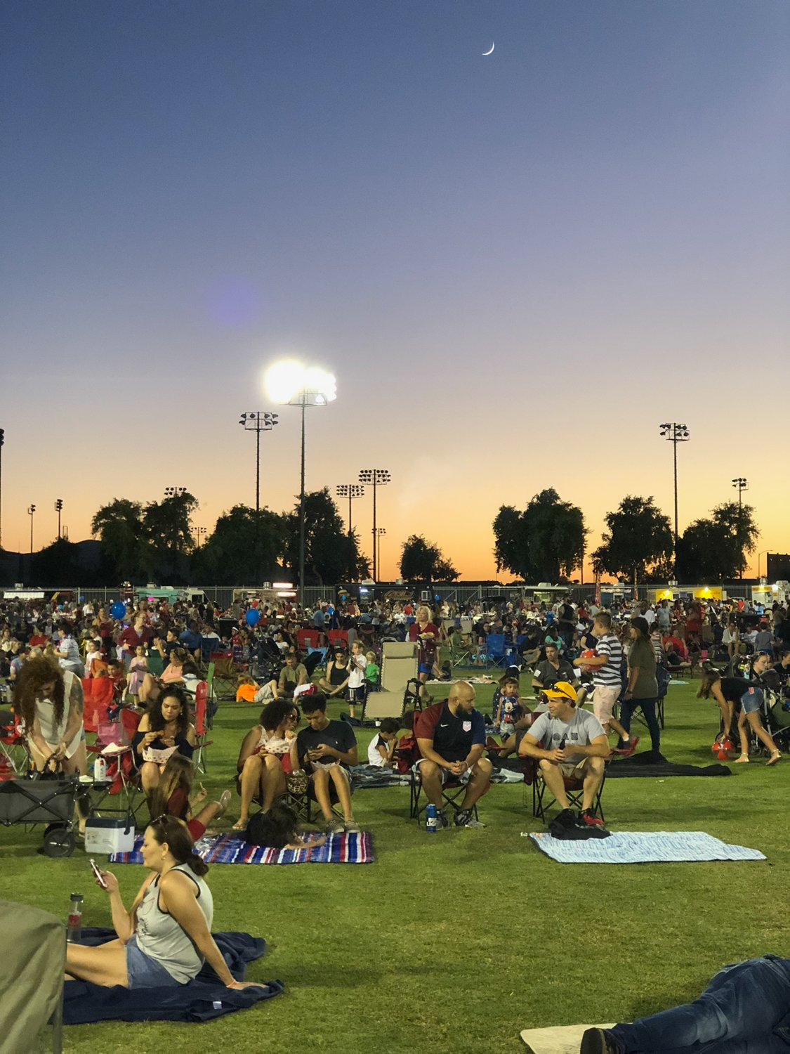 Mark Coronado Park in the City Center is one gathering spot for Surprise residents for events like the Fourth of July fireworks celebration. The city is aching for more parks and open space, however, as the city's population continues to grow.