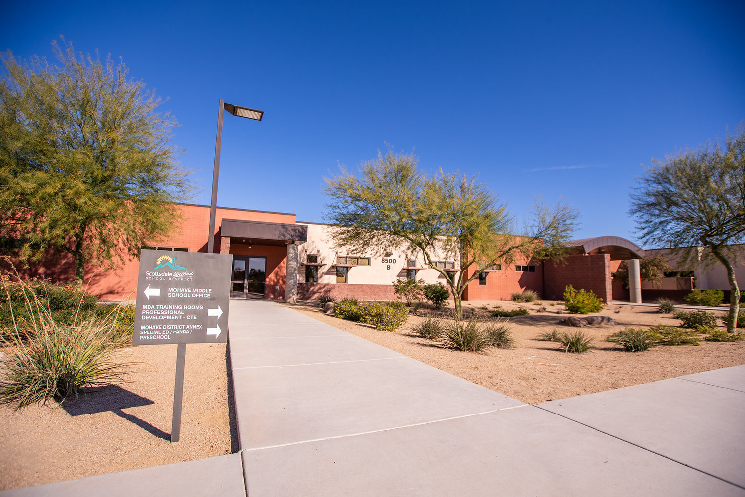 Scottsdale Unified School District offices at 8500 E. Jackrabbit Road will host a special education fair Feb. 19.