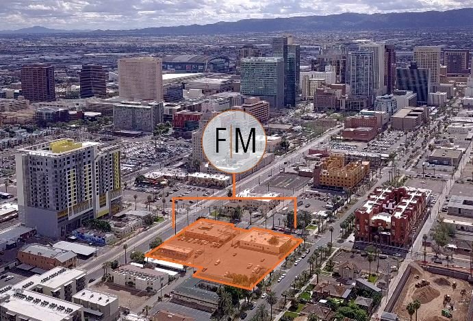 First McKinley, a development site at the NWC of 1st Avenue and McKinley Street in downtown Phoenix, was acquired for $7 million.