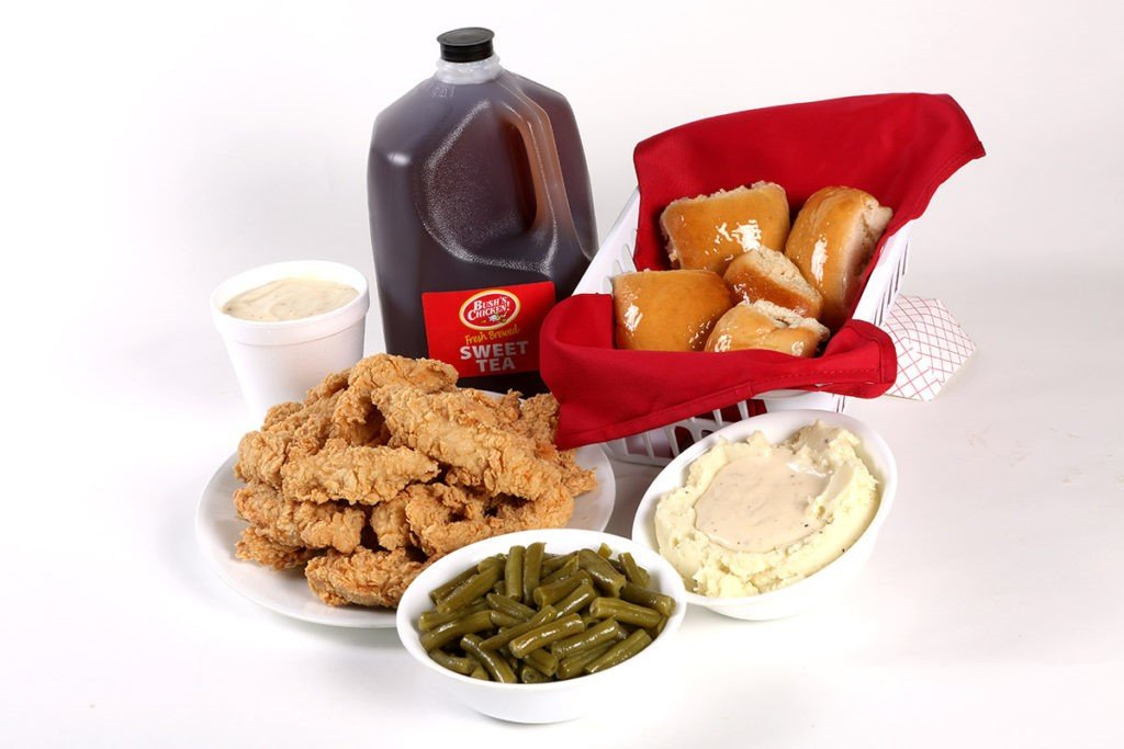 Bush's Chicken offers a hearty family meal on the go.